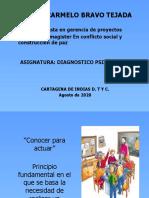 PRIMERA CLASE  DX PSICOSOCIAL