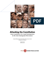 SPLC Report Examines Extremist Views of Lawmakers Attacking 14th Amendment