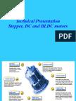Motors - Stepper, BLDC, DCr