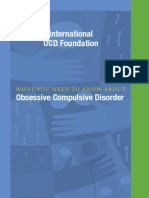 What You Need to KNoW about Obsessive Compulsive Disorder