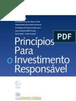 p´rincipios para o investimento responsavel unep fi