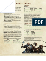 Scheda per il Combattimento - The Homebrewery