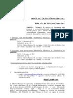 CMA processo licitatorio 002 publicidade