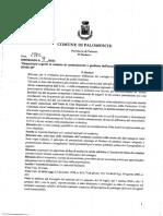 Ordinanza n.9 del 2021 del Comune di Palomonte (SA)