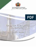 Balance Energético Nacional 2000 - 2009
