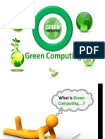 Green Computn Ppt