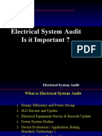 Electrical System Audit Presentation