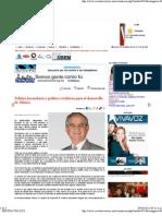 07-03-11 Politica Hacendaria y Crediticia