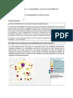 La Métropolisation, Un Processus Mondial Différencié (D)