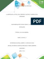 Introducción a las ciencias agrícolas - Tarea 1 Santander Matute
