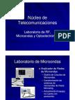 Laboratorio de RF, Microondas y Optoelectrónica