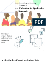 UNIT 5_LESSON 3_Methods of Data Collection for Qualitative Research