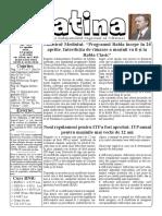 Datina - 23.04.2021 - prima pagină