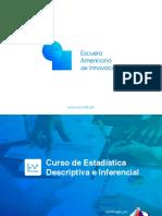 Brochure - Estadística Descriptiva e Inferencial (1)
