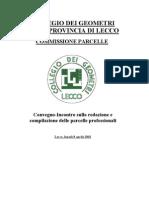 Tariffaconsigliatacommissioneparcelle