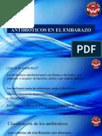 ANTIBIOTICOS EN EL EMBARAZO CARLOS  FRANCO