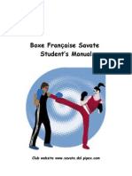 Savate Students Manual