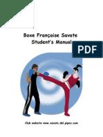 Savate Students Manual