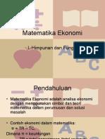 Matematika Ekonomi Dan Bisnis Josep Bintang Kalangi Pdf