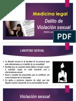 DELITO DE VIOLACION SEXUAL