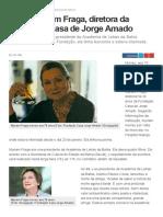 G1 - Morre Myriam Fraga, Diretora Da Fundação Casa de Jorge Amado - Notícias Em Bahia