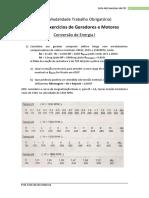 MTO - Lista de Excerício de Geradores e Motores CEI