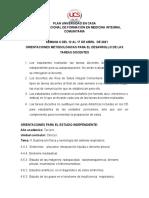 Clínica I.semana 5. Orientac Estudio Independiente
