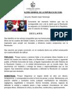 19 Declaración Trabajadores