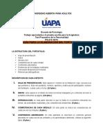 PORTAFOLIO COMO PRUEBA FINAL DE TEST PROYECTIVO DE LA PERSONALIDAD PSI-412-GV72