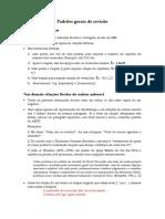 Padrões Gerais de Revisão (3)