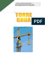 Guía de Trabajos Seguro  Manual de seguridad Torre Grua