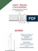 La Progettazione Del Parapetto Vetrato - Regole Da Rispettare