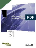 Mise en oeuvre materiaux composites 5267