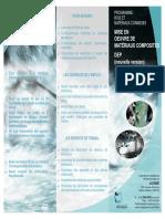DEP Matériaux composites (2004-2005)