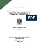 UTS Metode Penelitian Dan Penulisan Artikel Hukum (Putu Satria Satwika Anantha - 2082411020)