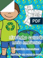 COLORIR MEIO AMBIENTE - MATERIAIS PEDAGÓGICOS