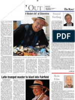 """Latin Trumpet Master Blasts into Fairfield"" - Arturo Sandoval profile for the Norwalk Hour, March 2008, p 1 of 2"
