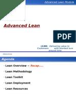 Advanced Lean Training Manual Band 4