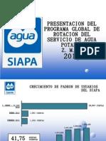 Tandeos del SIAPA en Guadalajara