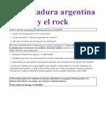 La dictadura argentina y el rock
