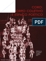 CORO CORPO COLECTIVO E ESPAÇO POÉTICO