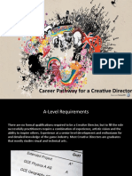 Career Pathway for a Creative Director