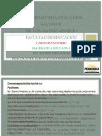 CASOS DE FACTOREO TUTORIA