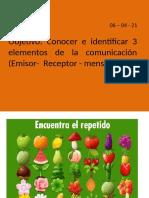 emisor- receptor - mensaje