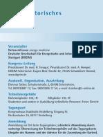 Programm 8. NetzwerkForum der DGEIM
