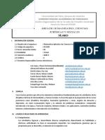 Silabo Matemática Aplicada a Las CCSS y Humanas 2020-2-1