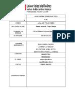 PREGUNTA GENERADORA ANALISIS FINANCIERO UNIDAD 1 GRUPO 2 CIPA ROGER Y EDINSON