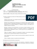 TALLER DE COMUNICACIONES SP DE LOS RIOS SOTO