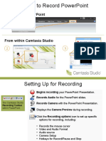 Camtasia Getting Started Guide