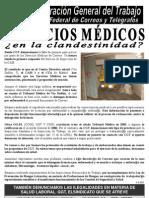 110304 COMUNICADO servicios Médicos